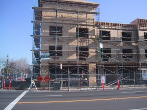 Hawthorn Suites, Under Construction, Webster Street, Alameda, California, January 2003