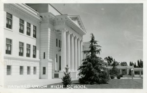 Hayward Union High School, Hayward, California