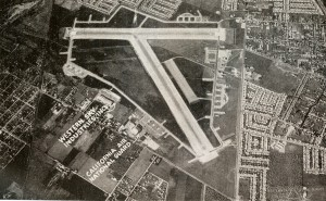 Hayward California Airport, aerial photo