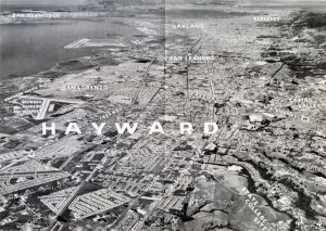 Hayward California aerial