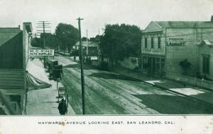 Haywards Avenue Looking East. San Leandro, Cal.