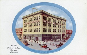 Heald's Business College, San Pablo Ave. at 16th St., Oakland, California