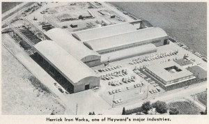 Herrick Iron Works, Hayward, California