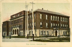 High School, Alameda, Cal., mailed 1907