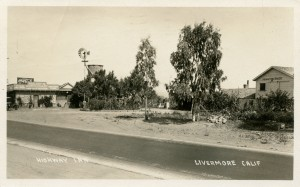 Highway Inn, Livermore, California, mailed 1932