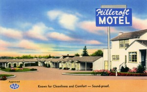Hillcroft Motel, 1687 MacArthur Blvd., San Leandro, California