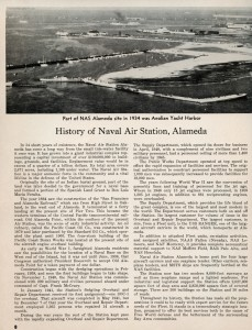 History of Naval Air Station, Alameda, California