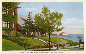 Homes by the Boat House, Alameda, California