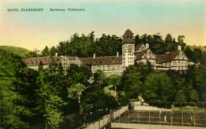 Claremont Hotel, Berkeley, California mailed 1939
