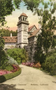 Claremont Hotel, Berkeley, California, mailed 1932