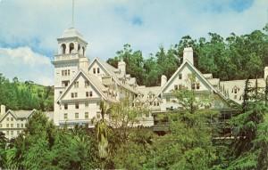 Hotel Claremont, Berkeley, California, mailed 1965