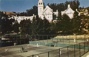 Hotel Claremont, High atop the Oakland - Berkeley Hills