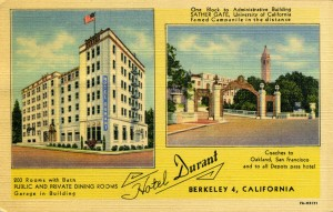 Hotel Durant, Berkeley, California