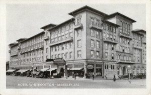 Hotel Whitecotton, Berkeley, Cal.