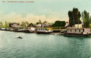 Houseboats, Alameda, California