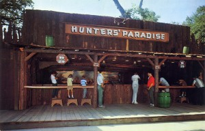 Hunter's Paradise shooting gallery, Frontier Village, San Jose, California