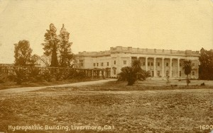 Hydropathic Building, Livermore, California, mailed 1911