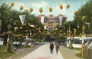 Idora Park, mailed 1908