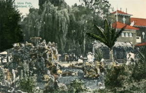 Idora Park, Oakland, California, old postcard circa 1910