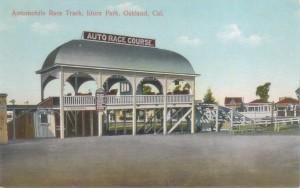 Automobile Race Track, Idora Park, Oakland, Cal.