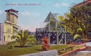 Band Stand, Idora Park, Oakland, Cal.