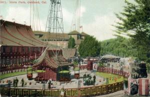 Idora Park, Oakland, Cal., mailed 1908