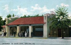 Entrance to Idora Park, Oakland, Cal., mailed 1908