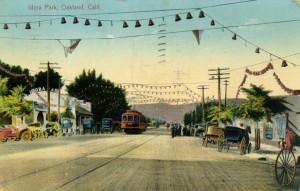 Idora Park, Oakland, Calif., mailed 1910