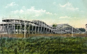 Scenic Railway, Idora Park, Oakland, California