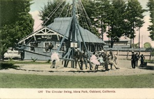 The Circular Swing, Idora Park, Oakland, California