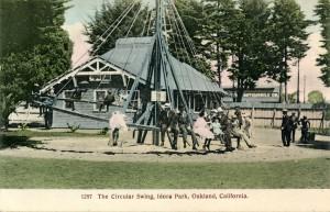The Circular Swing, Idora Park, Oakland, California