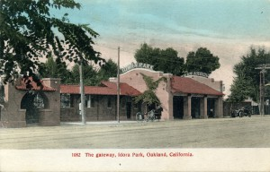 The gateway, Idora Park, Oakland, California