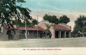 The gateway, Idora Park, Oakland, California