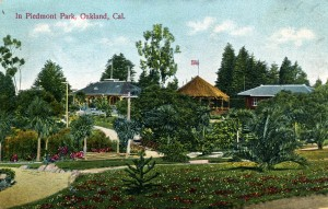 In Piedmont Park, Oakland, Cal. mailed 1920