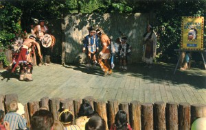 Indian Dancing at Frontier Village, San Jose, California