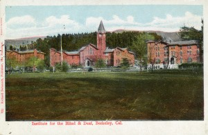 Institute for the Blind and Deaf, Berkeley, California
