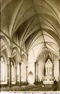 Interior of St Joseph's Church, Alameda, California