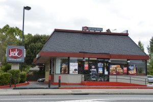 Jack in the Box, 1826 Webster St., Alameda, California, May 13, 2018