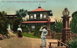 Japanese Tea Garden, Piedmont Park, mailed 1909