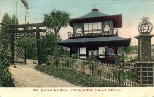 Japanese Tea House in Piedmont Park, Oakland, California
