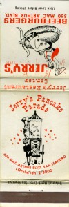 Jerry's Pancake Parade, 604 MacArthur Blvd., San Leandro, California
