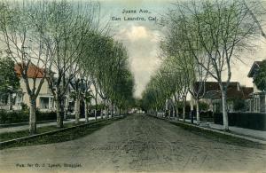 Juana Ave., San Leandro, Cal., mailed 1909