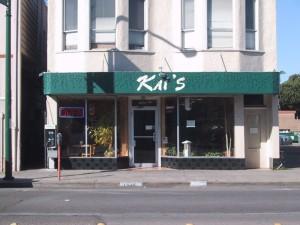 Kai's Japanese Restaurant, 1245 Park St., Alameda, California