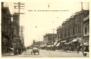 Park St. Looking South, Alameda, California