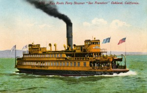 Key Route Ferry Steamer, Oakland, California