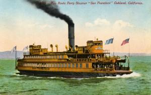 Key Route Ferry Steamer, Oakland, California