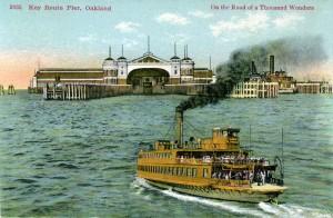 Key Route Pier, Oakland, California