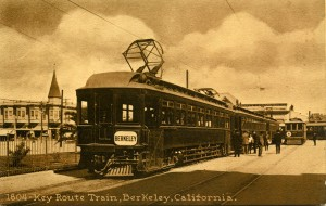 Key Route Train, Berkeley, California