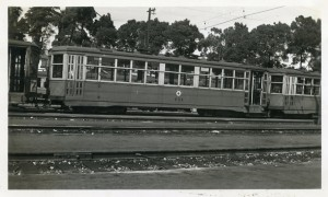 Key System, No. 711, Central Car Barn, Sept. 1946