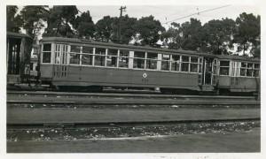 Key System, No. 711, Central Car Barn, Sept. 1946